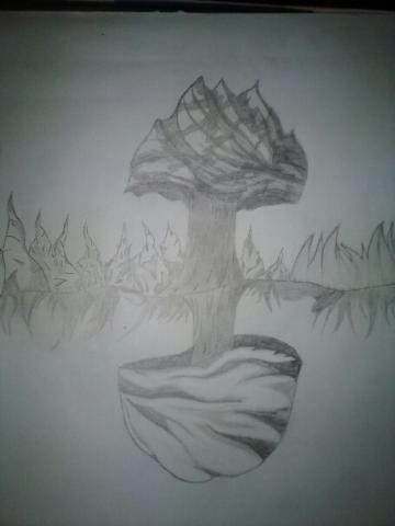 Mushroom WIP by Ferry-chan