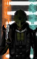 Thane Krios - Mass Effect 2 by MattDeMino