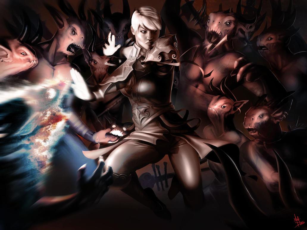 Exploding Palm: Diablo 3 by MattDeMino