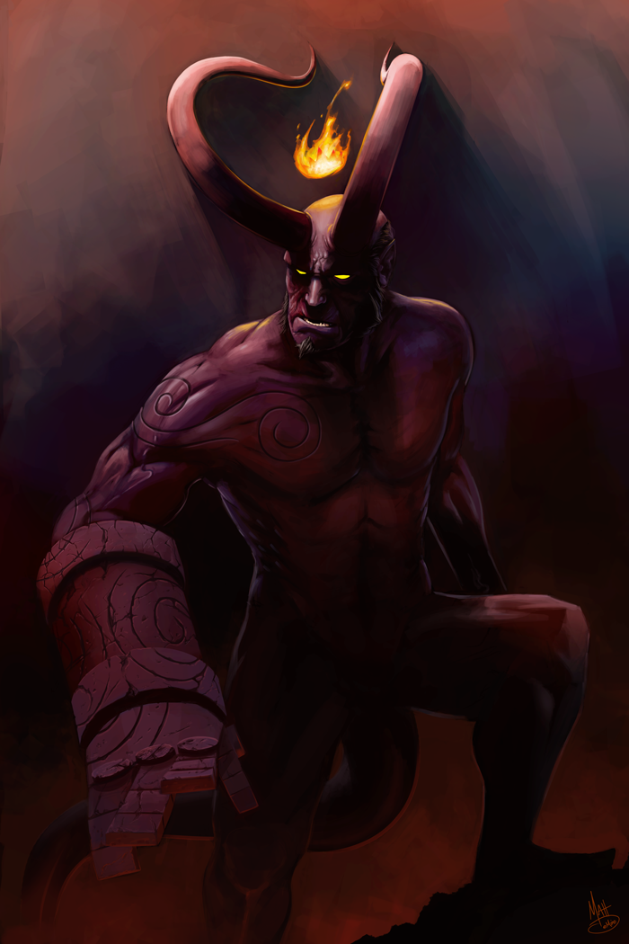Hellboy: Anung Un Rama by MattDeMino