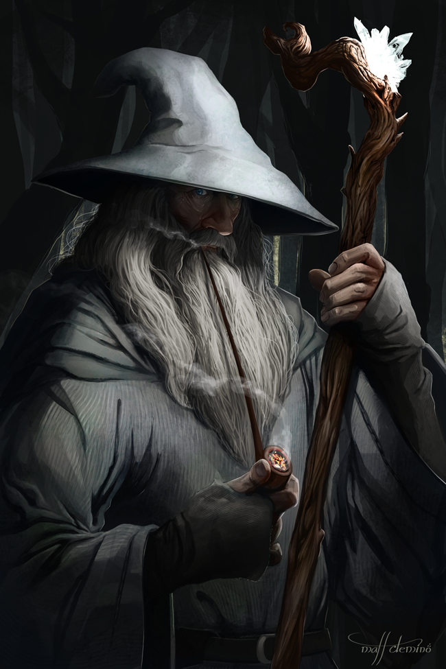 Gandalf the Grey - Figures of Middle Earth by MattDeMino
