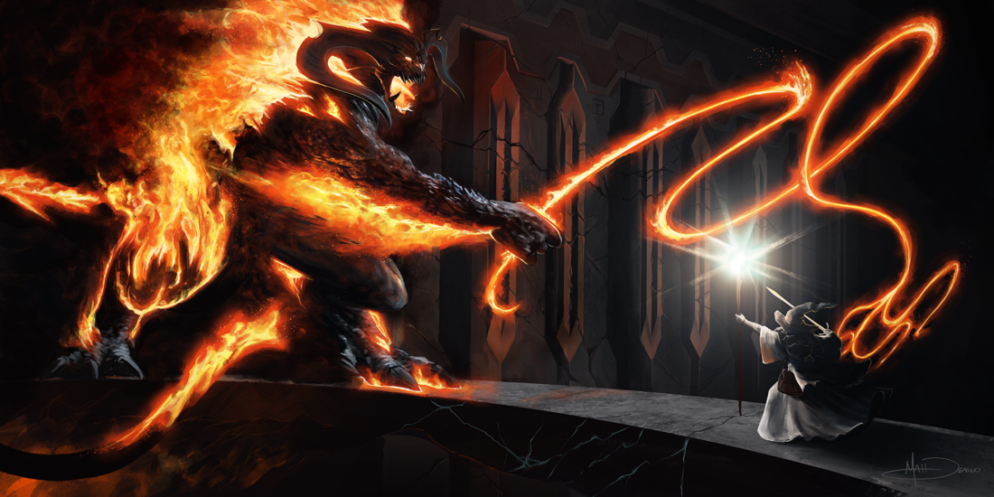 The Balrog by MattDeMino
