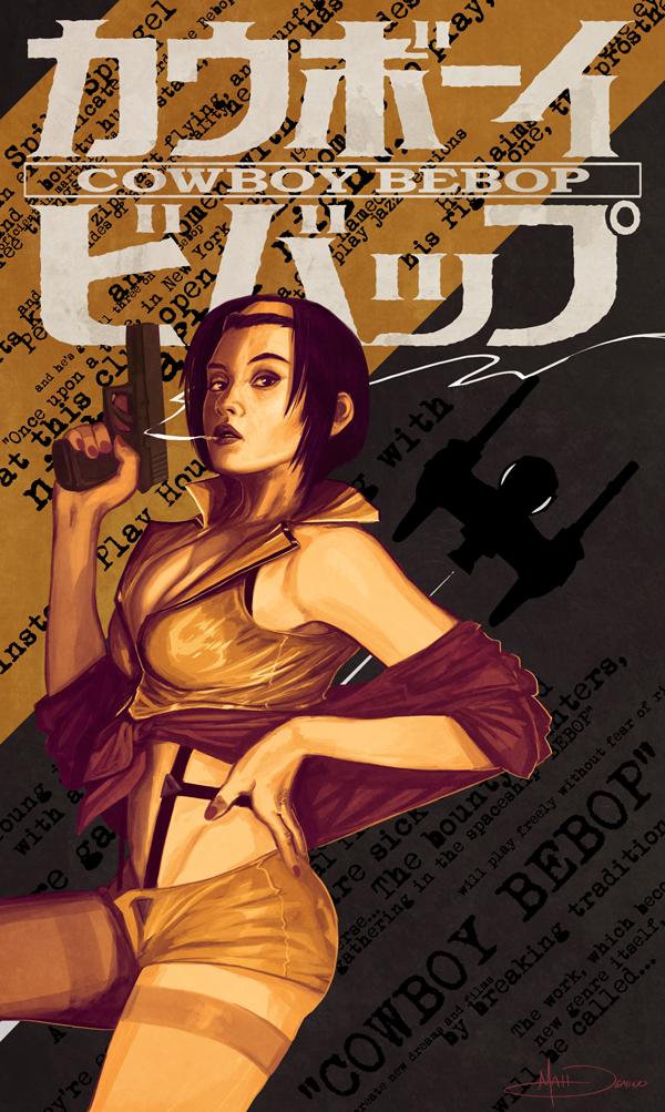 Faye Valentine by MattDeMino