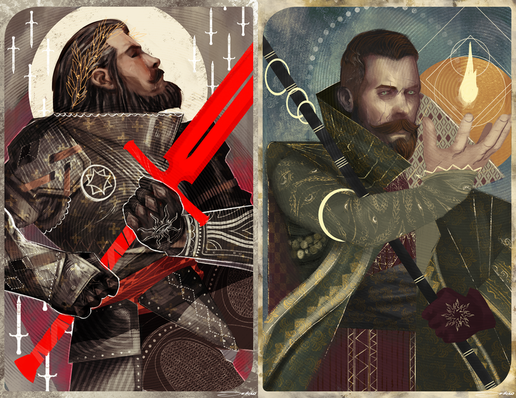 Dragon Age Tarot Favourites By Lipinghe On Deviantart