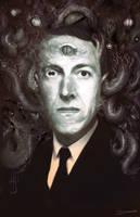 H.P. Lovecraft by MattDeMino