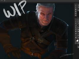 Witcher 3 WIP by MattDeMino