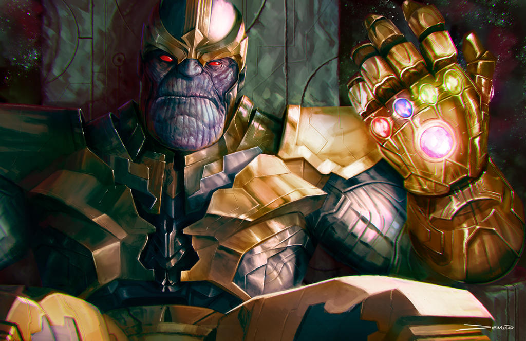 Thanos: The Infinity Gauntlet