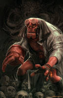 Hellboy by MattDeMino