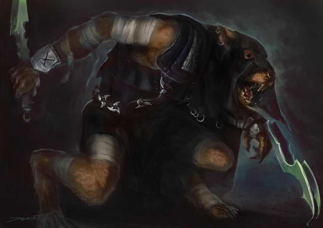 Warhammer Skaven Gutter Runner By Mattdemino On Deviantart