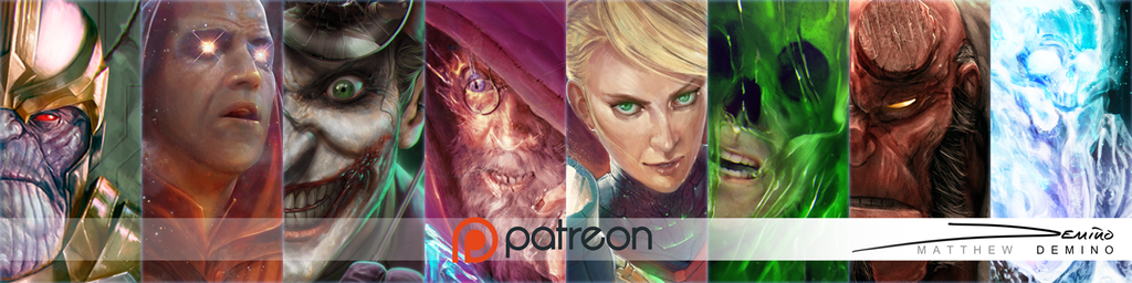 Patreon Banner Other by MattDeMino