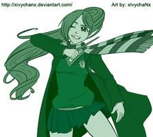 Pkmn OC - Ryu at Hogwarts by Yotsuba-no-Clover