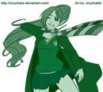 Pkmn OC - Ryu at Hogwarts