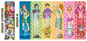Digimon Bookmarks