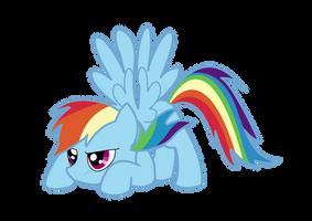 Rainbow Dash by NebulonB100
