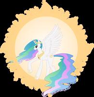 Princess Celestia by NebulonB100