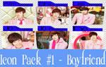 Icon Pack #1 - Boyfriend