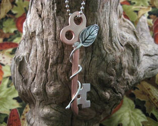 Secret Garden Key by GipsonDiamondJeweler