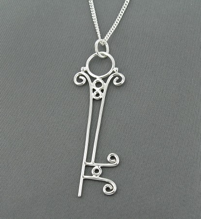 Victorian Skeleton Key by GipsonDiamondJeweler