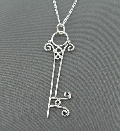 Victorian Skeleton Key by GipsonDiamondJeweler