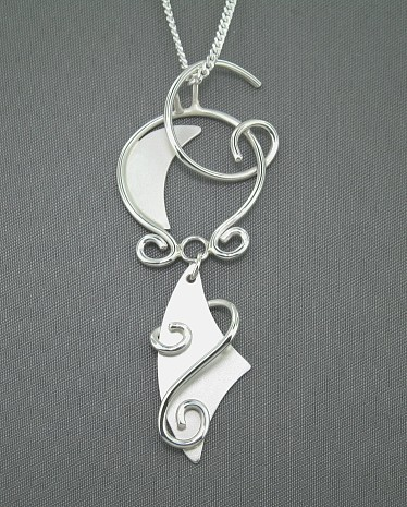 Abstract Pendant by GipsonDiamondJeweler