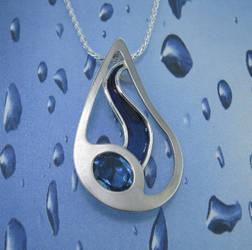 Within Another Raindrop by GipsonDiamondJeweler