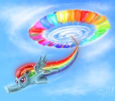 Sonic Rainboom by RainDH