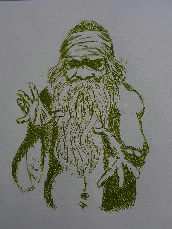 sketch___tribal_sorcerer_by_andersonmpns