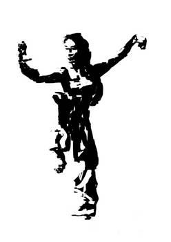 Chinese woman kung fu