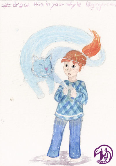 Cat's spirit by Weena88