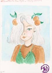 Orange Girl by Weena88