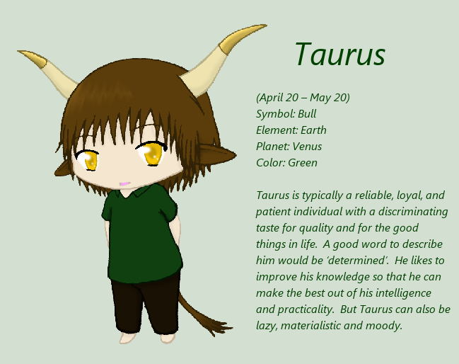 Chibi Taurus by Akatsuki-sisters