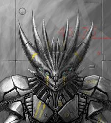 SYM Cybernetic Thornmech by Aerozopher