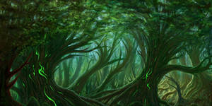Ametaryum: Forest 1 by Aerozopher