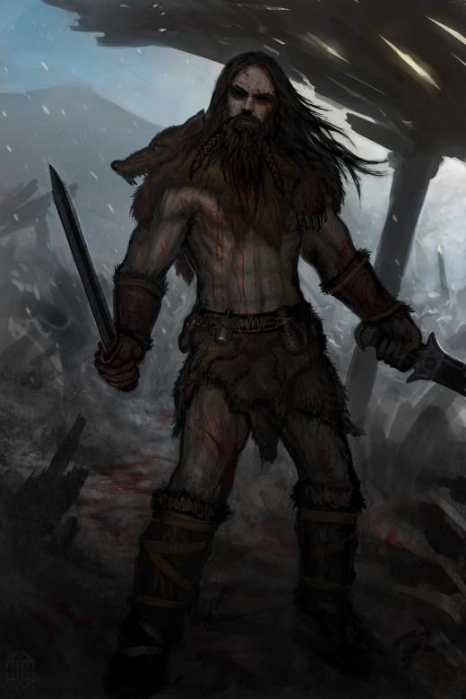 Fred Studart: Viking Berserk  Viking Berserker