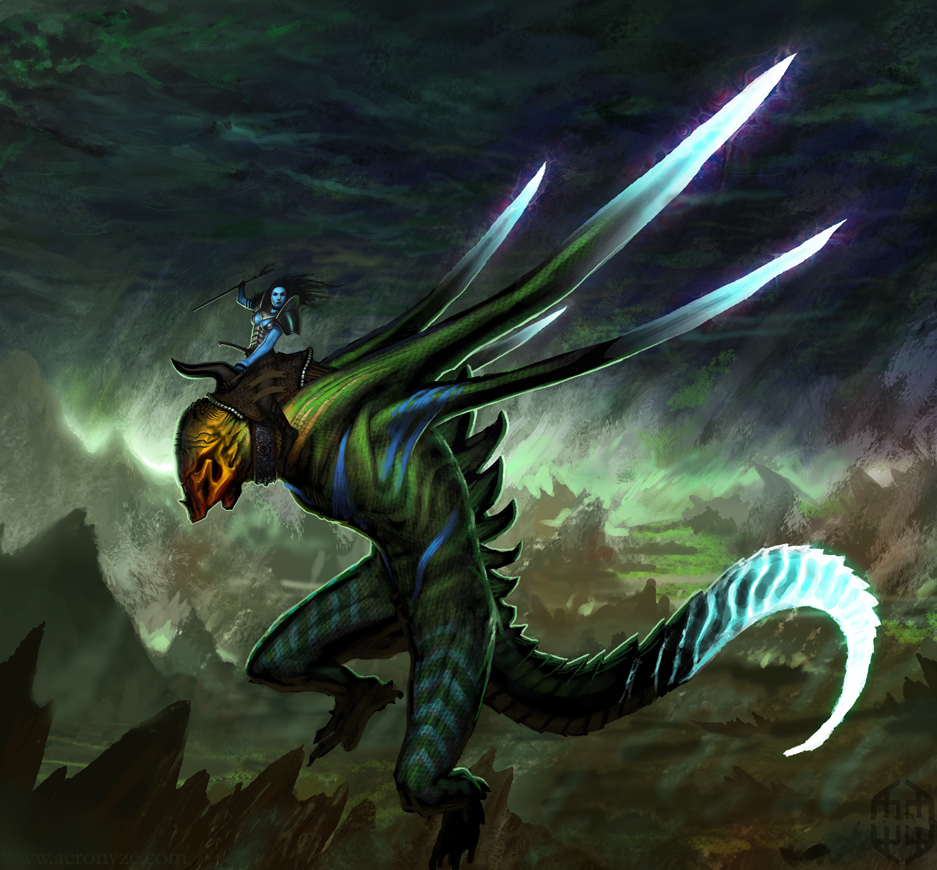 ChoW#282 :: Dragon Rider