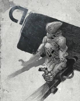 Cyberpunk Artrage Doodle