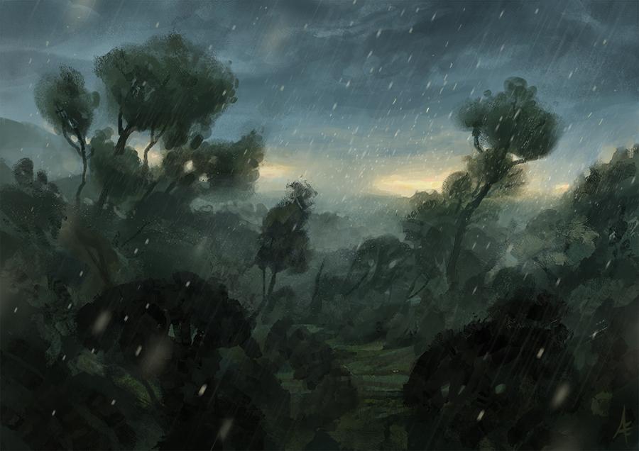 Storm Coming -Speedpainting