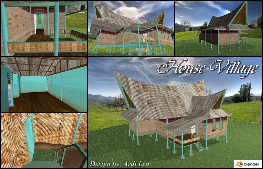 rumah kampung village house by ardileo on deviantart