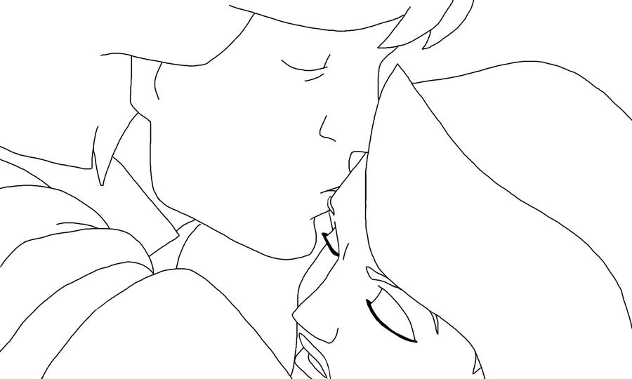swan princess coloring pages - lineart derek and odette 2 by swanprincessfan on deviantart