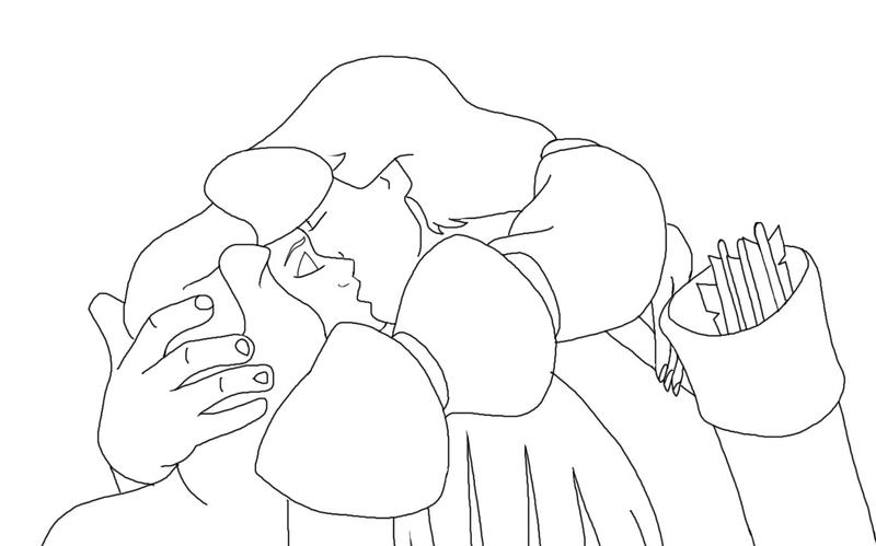 odette and derek coloring pages - photo#2
