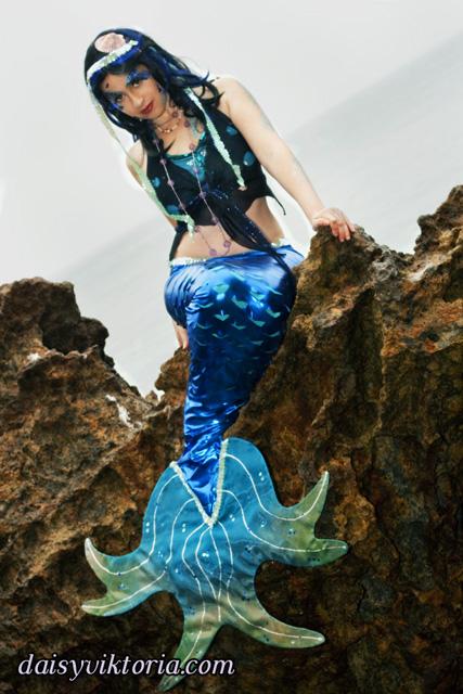 Blue Mermaid by DaisyViktoria