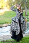 Striped Rococo Dress