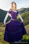 Purple Cotehardie by DaisyViktoria