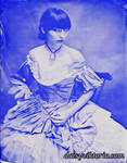 Victorian Ballgown Tin Type by DaisyViktoria