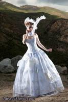 Wedding Gown II by DaisyViktoria