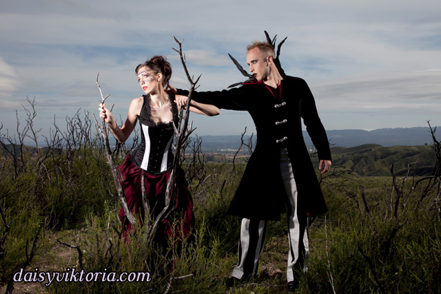 Gothic Gown and Coat