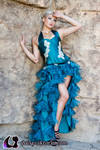 Turquoise Gown Fall 2011