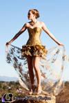 Gold Stars Dress