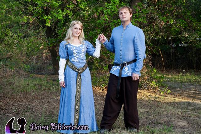 Medieval Couple by DaisyViktoria