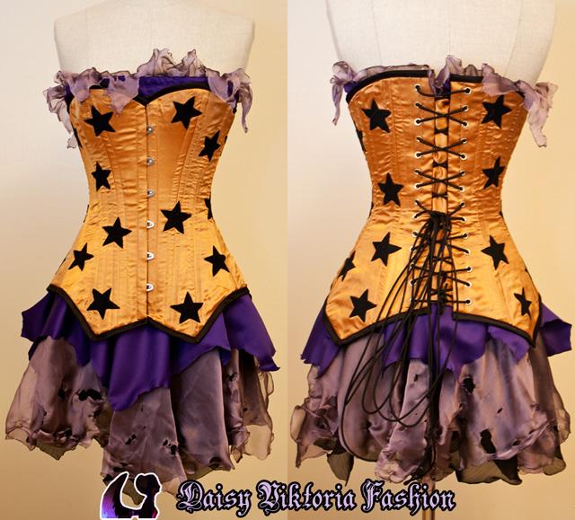 Corseted Faerie Dress by DaisyViktoria